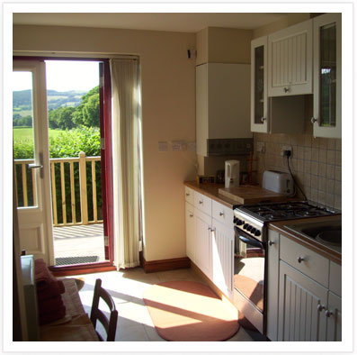 Recently refurbished Kitchen and Diner in Self Catering Apartment